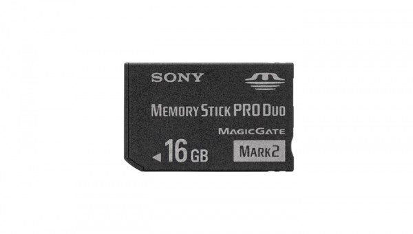 Sony 16GB Memory Stick PRO Duo Memory Card