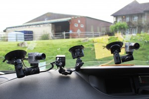 Minicams Fwd facing & dual in-car system